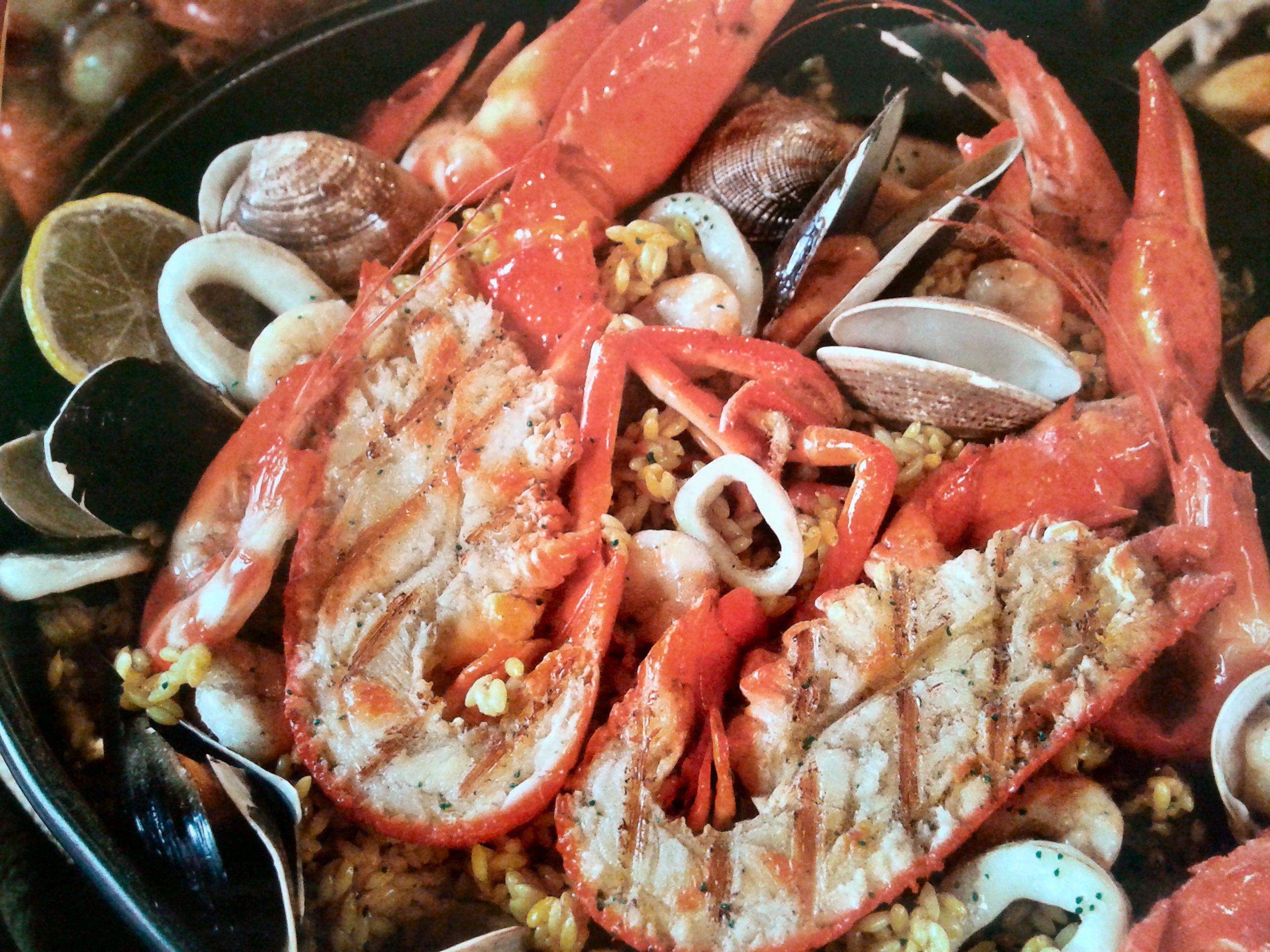 Paella di mare - Ricette di cucina di Manuela, Azzurra e Luna
